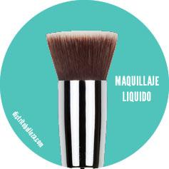 brocha para maquillaje liquido
