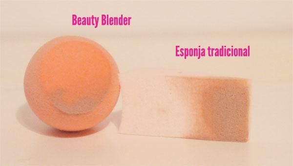 esponja para aplicar maquillaje liquido