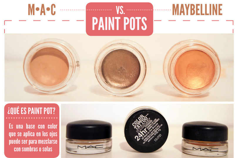 paint pot mac vs maybelline