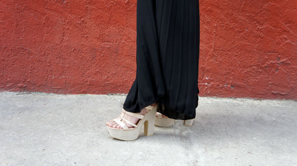 outfit palazzo zapatos