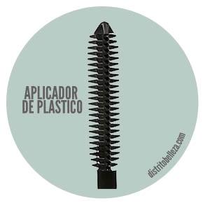 Aplicadores de rímel: Aplicador de plástico