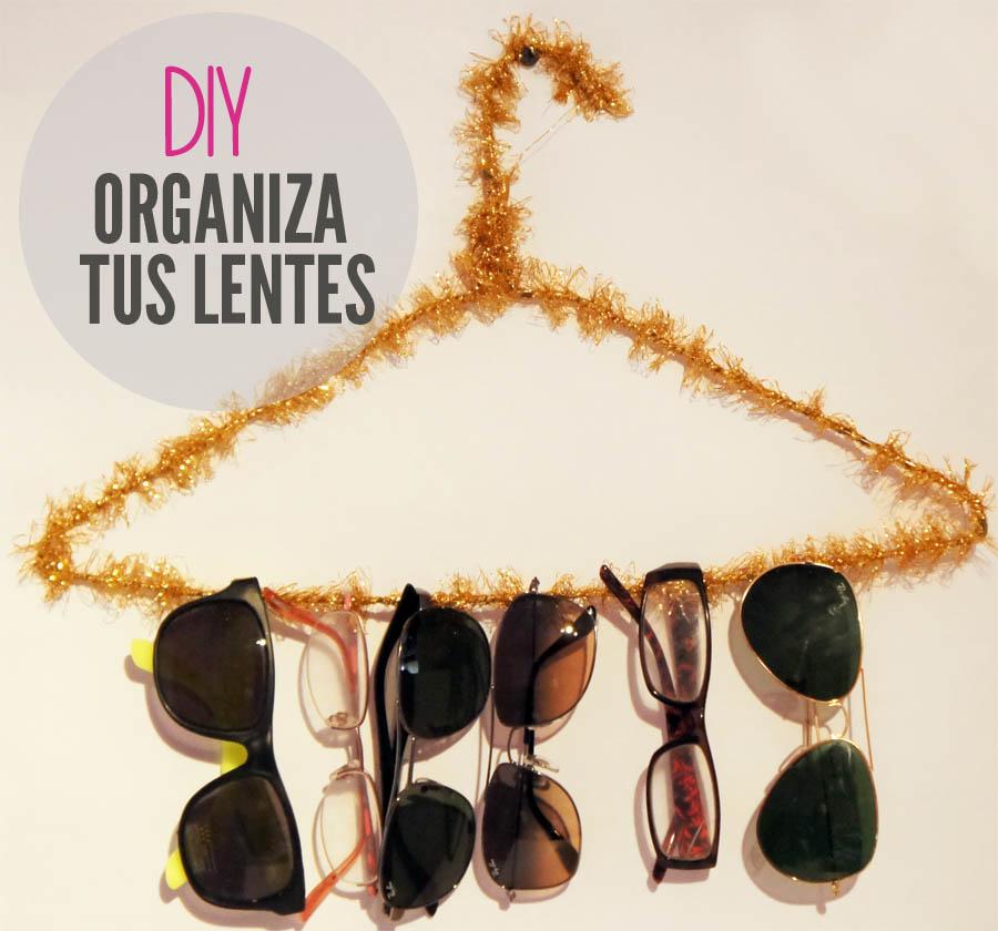 Como organizar los lentes