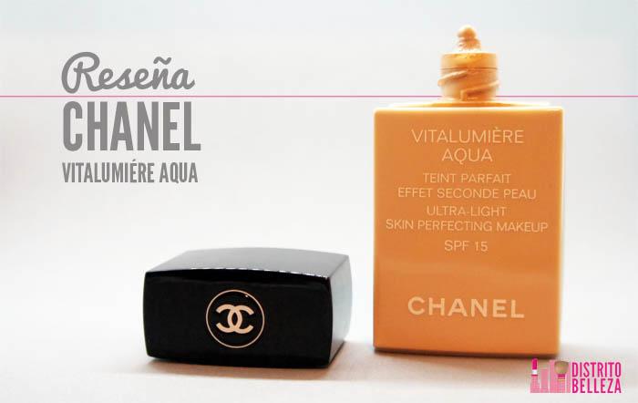 Reseña Chanel Vitalumiére aqua