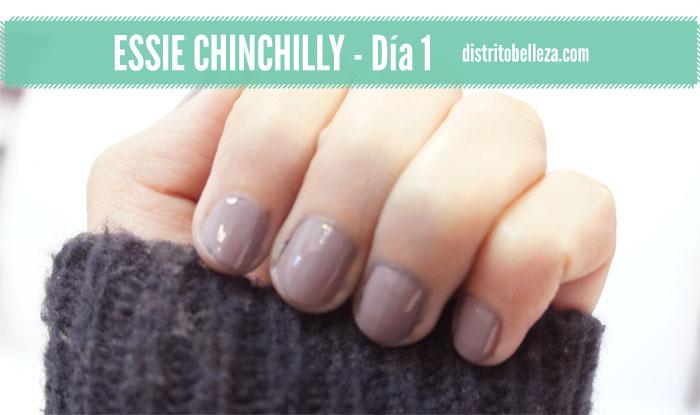 Reseña Essie Chinchilly día 1