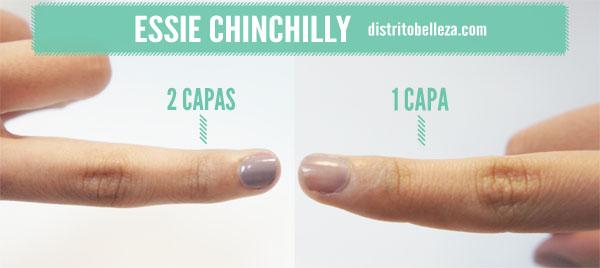 Reseña Essie Chinchilly Capas