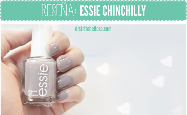 Resena Essie Chinchilly color