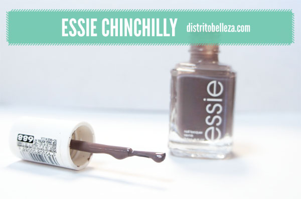 Reseña Essie Chinchilly color