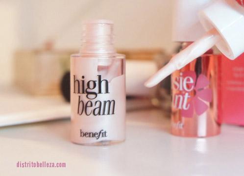 benefit high beam y posie tint aplicador