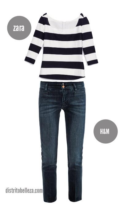 57da466d1e Tips para combinar blusas de rayas - Distrito Belleza.