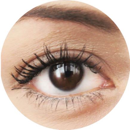 Aplicadores de rímel: Aplicador grueso ojo