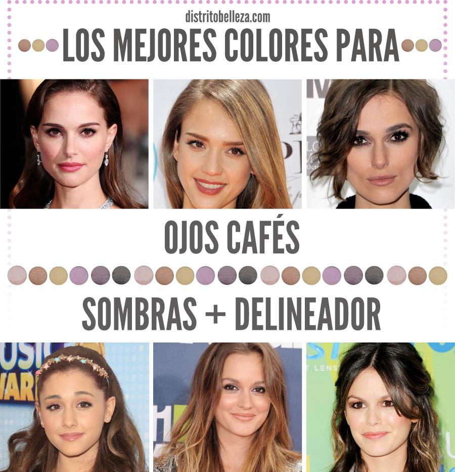 Maquillaje de Ojos Cafes Maquillaje Para Ojos Caf s