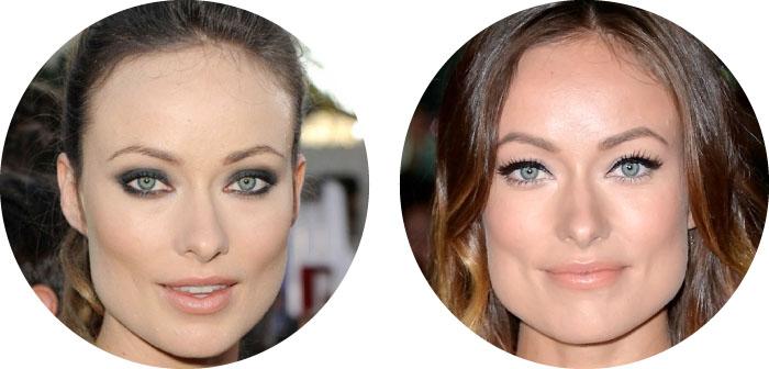 Maquillaje para ojos verdes OLIVIA WILDE