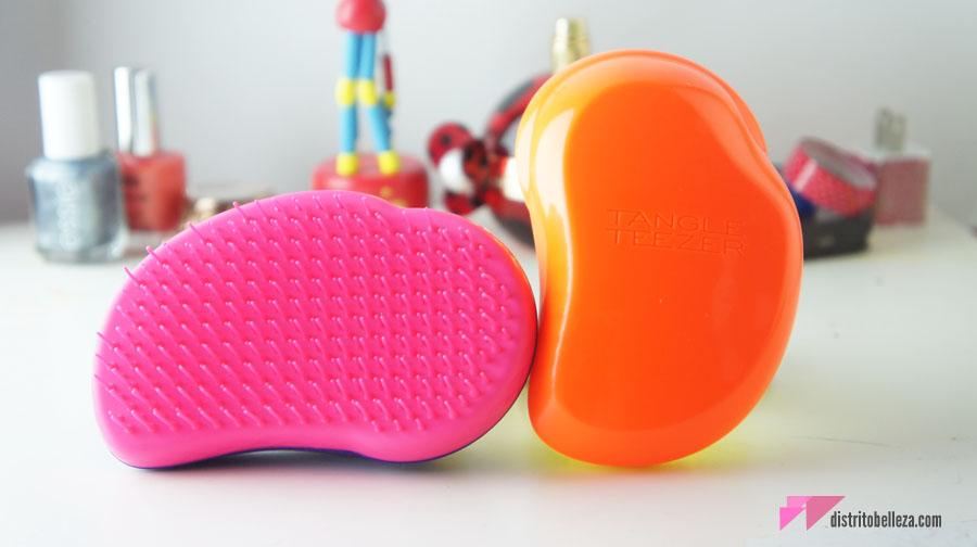 Reseña Cepillo Tangle Teezer colores