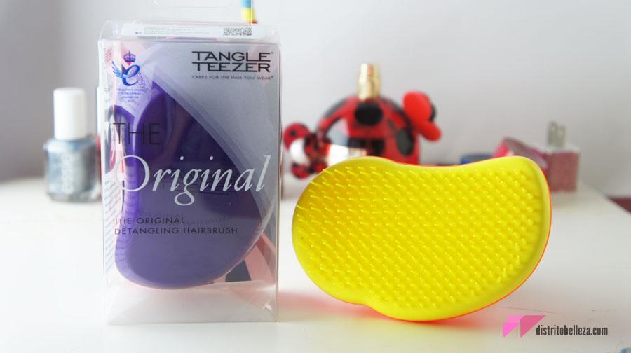 Reseña Cepillo Tangle Teezer empaque
