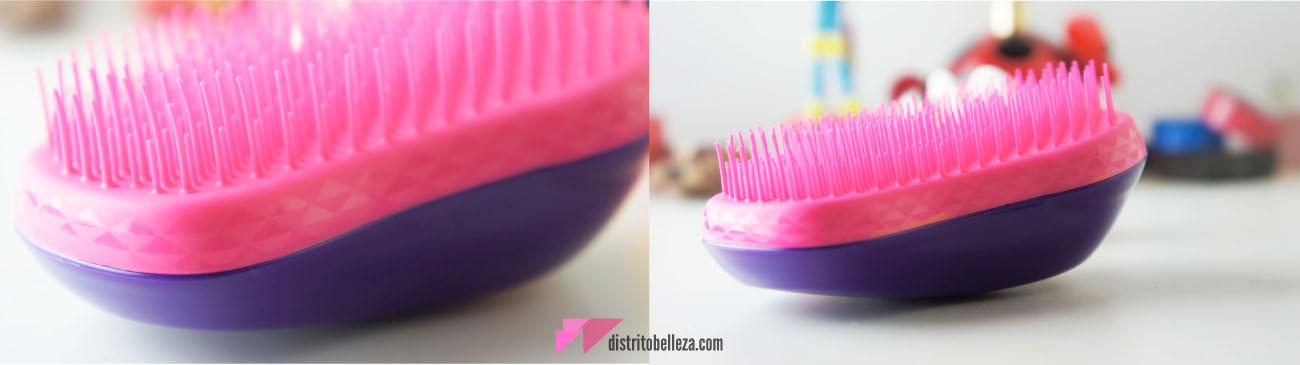 Reseña Cepillo Tangle Teezer textura