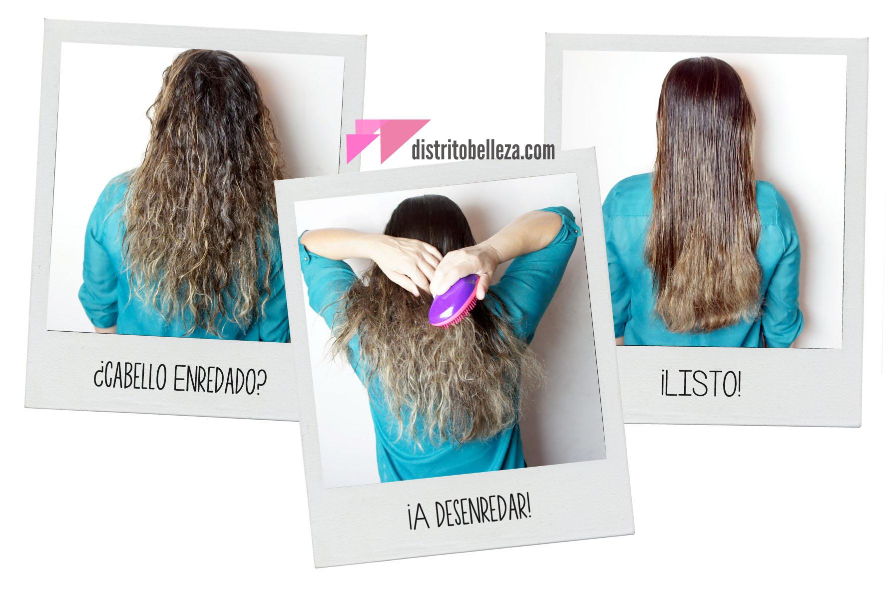 Reseña Cepillo Tangle Teezer cabello enredado