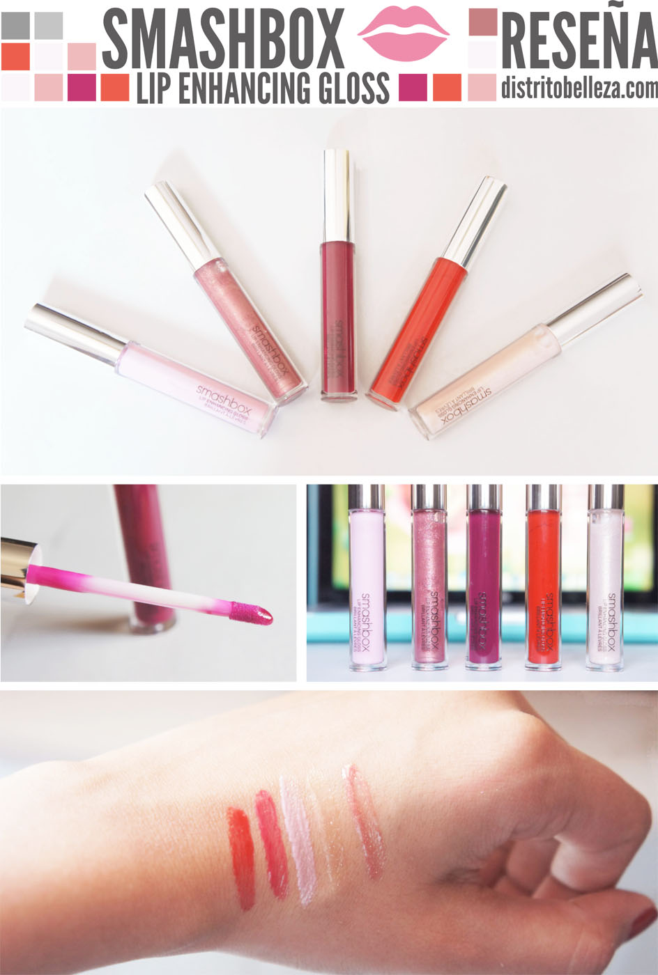 Reseña Smashbox lip gloss