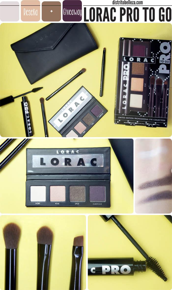 Lorac pro to go kit distrito belleza