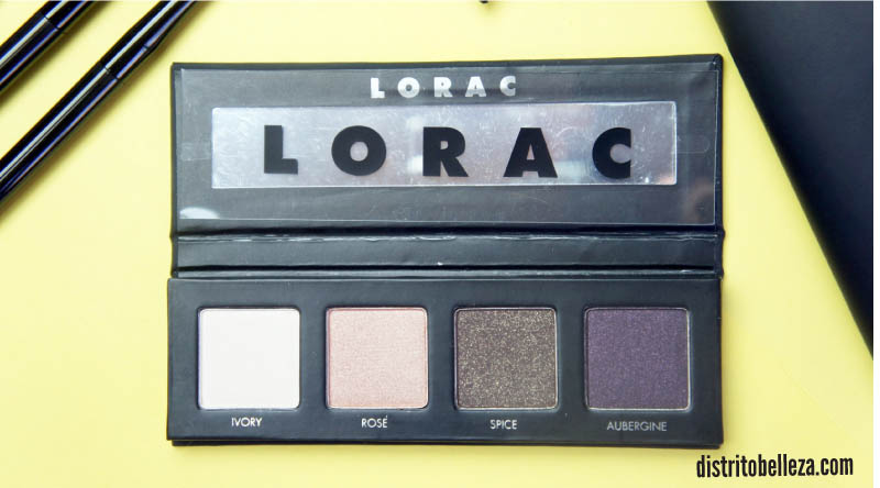 Lorac pro to go kit eyeshadows