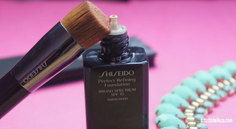 Maquillaje liquido Shiseido Perfect Refining maquillaje liquido