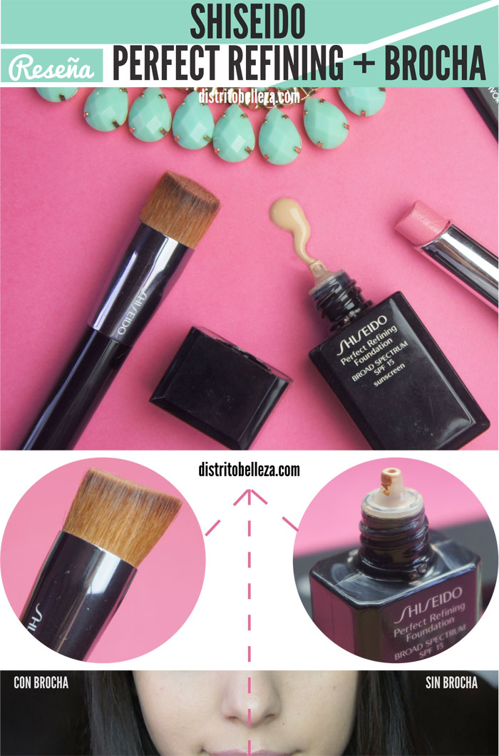 Maquillaje liquido Shiseido Perfect Refining