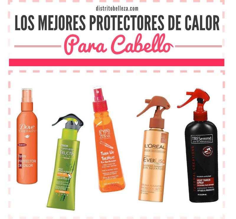 Mejores protectores de calor para cabello