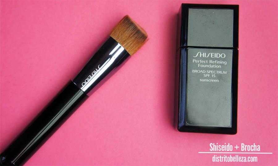 Reseña Shiseido Perfect Refining Brocha shiseido