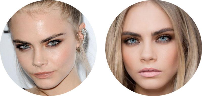 maquillaje para ojos azules cara