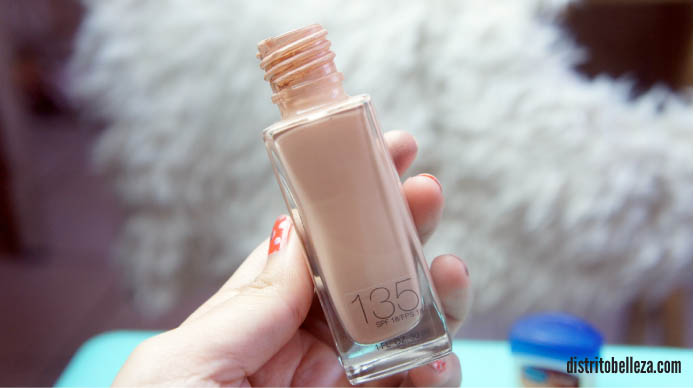 Reseña Maybelline fit me 135