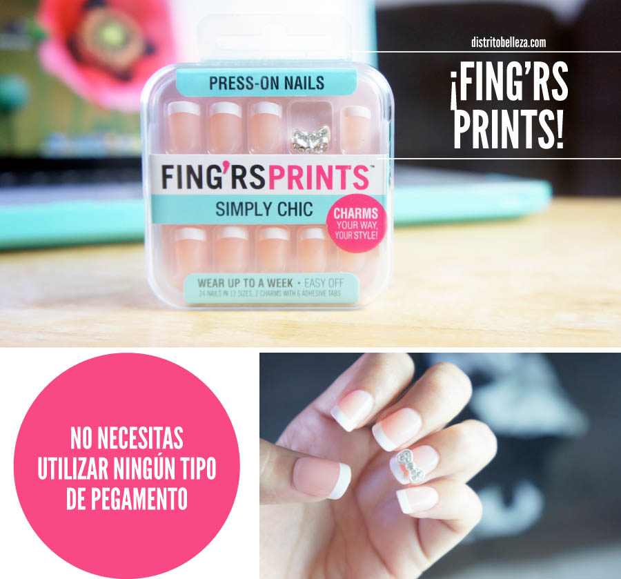 Uñas en 5 minutos fing'rs prints