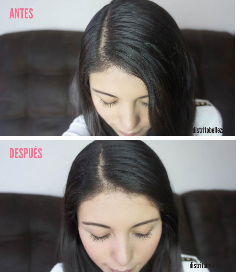 Como usar Shampoo en seco TRESEMME ANTES Y DESPUES