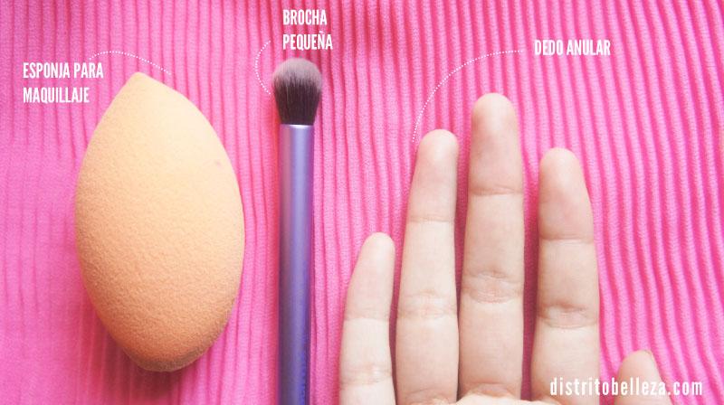 Correctores de maquillaje como aplicarlos