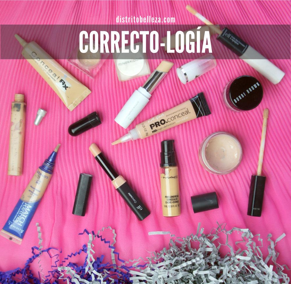 Correctores de maquillaje distrito belleza