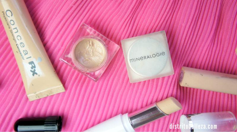 Correctores de maquillaje para granitos
