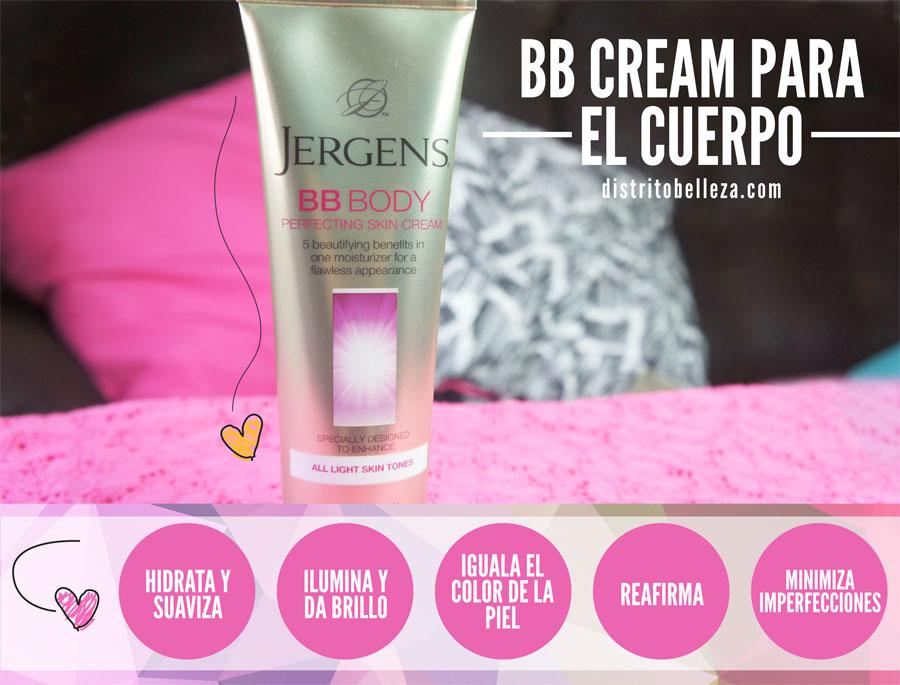 Crema Jergens BB Body distrito belleza