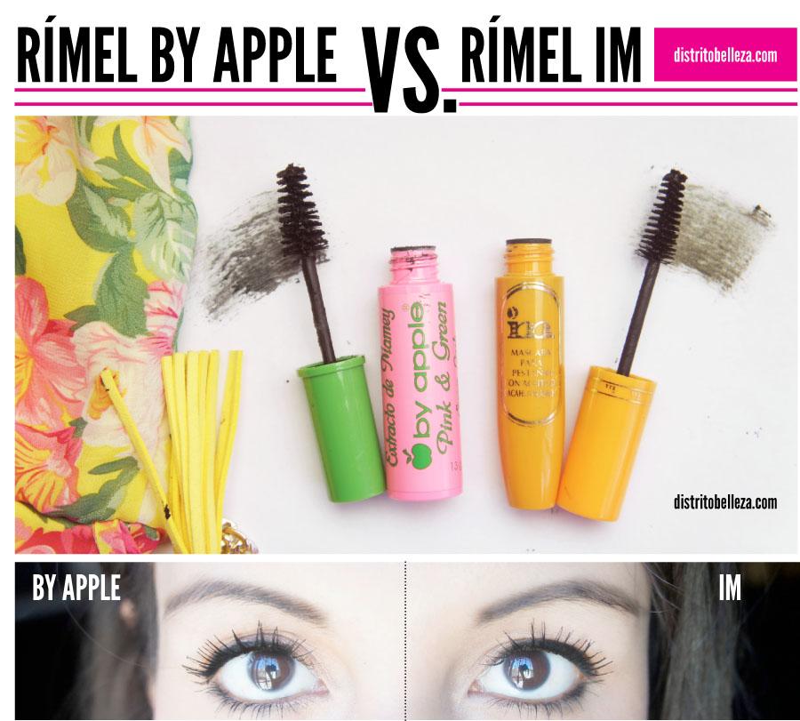 El mejor rímel by apple o rímel im distrito belleza
