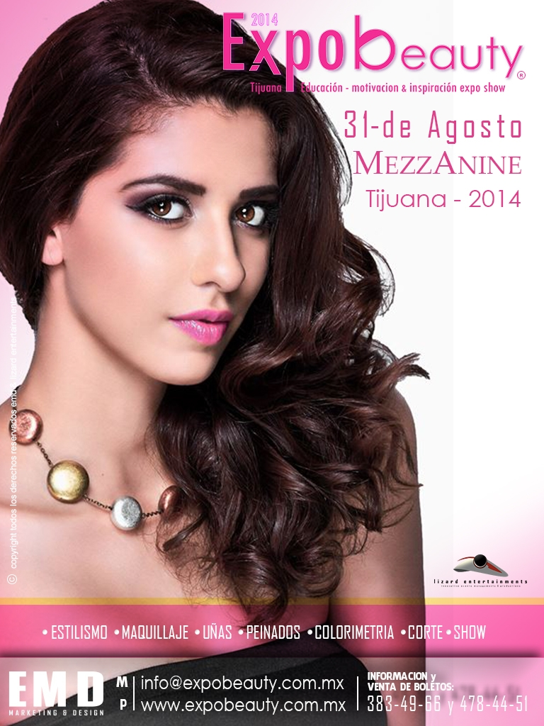 FLYER DIGITAL expo beauty distrito belleza