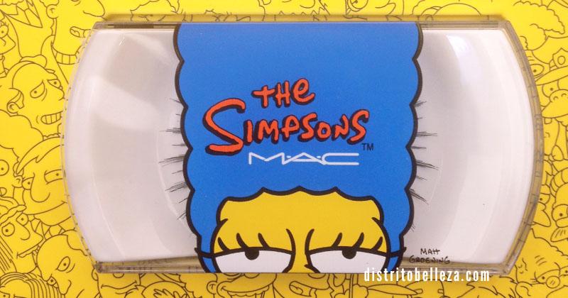 Colección MAC Los simpsons pestañas