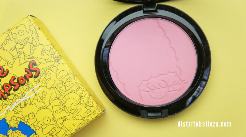 Colección MAC Los simpsons pink sprinkles