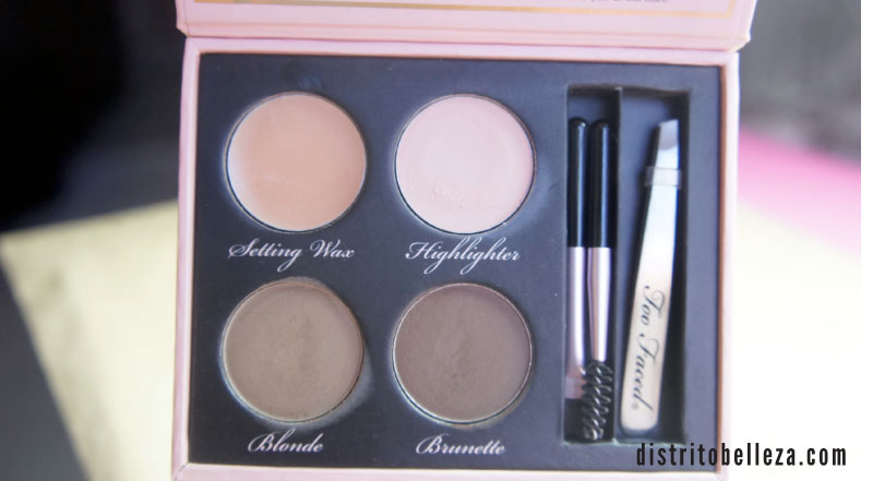Kit de cejas Too Faced Brow Envy México