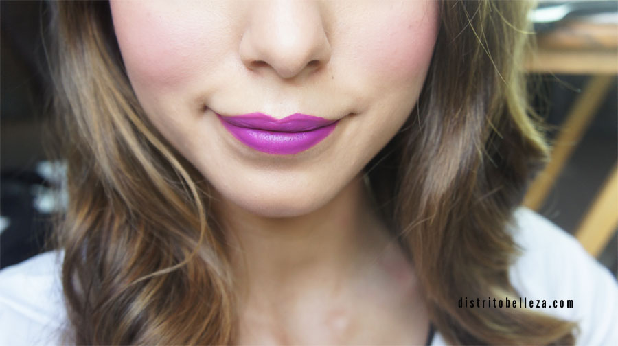 labial heroine MAC como se ve