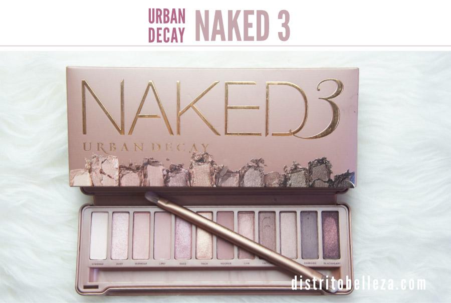 Sombras Naked 3 Urban Decay Distrito Belleza