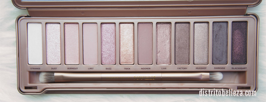 Sombras Naked 3 colores