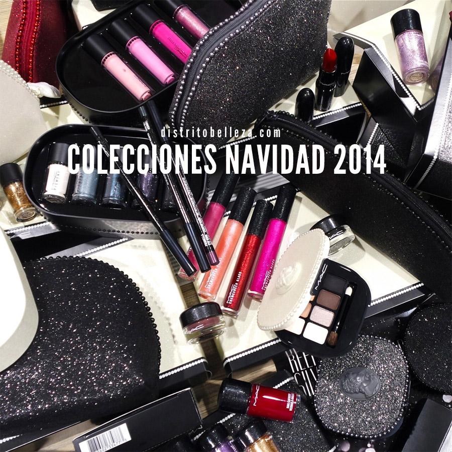 Colecciones de maquillaje Navidad 2014 Distrito Belleza