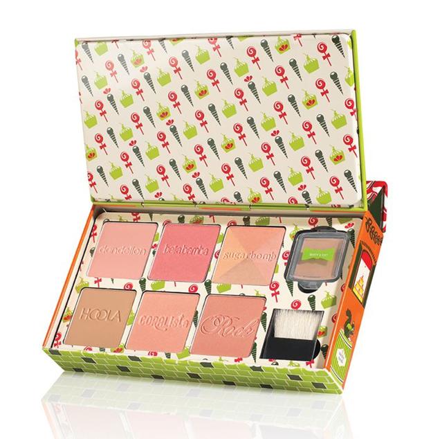 Colecciones de maquillaje Navidad 2014 benefit cheeky sweet spot