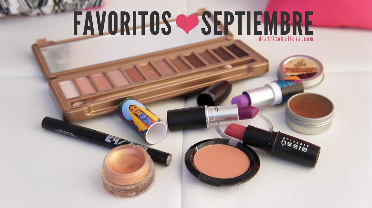 Favoritos Septiembre 2014 Distrito Belleza