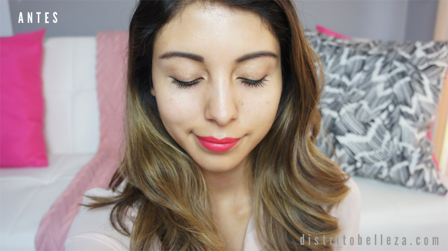 Maquillaje Covergirl Clean Whipped ANTES
