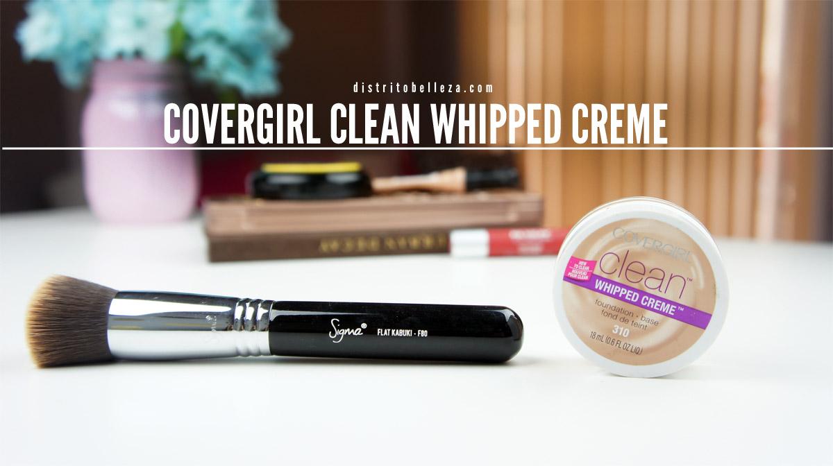 Maquillaje Covergirl Clean Whipped Distrito Belleza