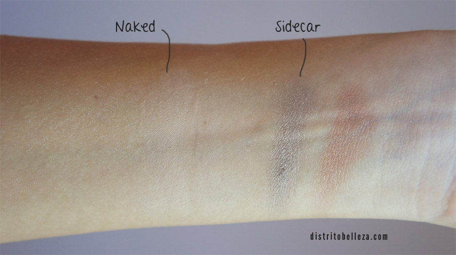 Sombras Naked Urban Decay paleta vs city color