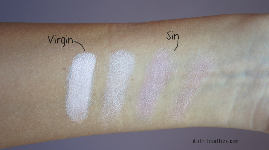 Sombras Naked Urban Decay vs city color